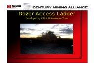 Dozer Access Ladder - MIRMgate