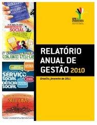 Relatório de Atividades CFESS - 2010