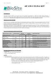 sICAM-1 ELISA KIT - Nordic Biosite