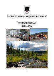 Energi og klimaplan for Flå kommune - Kommunedelplan 2011-2014