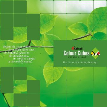 Download the Colour Cube Luxury Villas brochure in - Kairali Builders