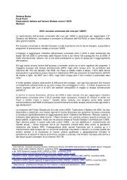Abstract Burbo - Osservatorio Aids - Action for Global Health