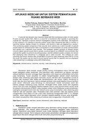 aplikasi webcam untuk sistem pemantauan ruang berbasis web
