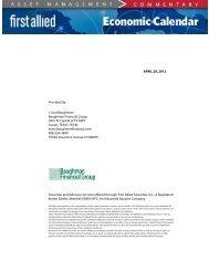 APRIL 20, 2012 Provided By: J. Kurt Baughman Baughman ...