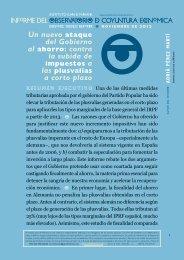 Un nuevo ataque del Gobierno al ahorro - Instituto Juan de Mariana