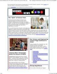 March 2010 - Science Buddies