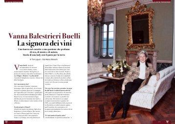 Vanna Balestrieri Buelli La signora dei vini - Monza Club