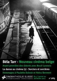 Bulletin n°265 - Cinémathèque suisse