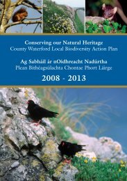 Biodiversity Action Plan - Waterford County Council