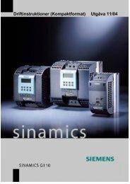 Driftinstruktioner (Kompaktformat) Utgåva 11/04 - Siemens