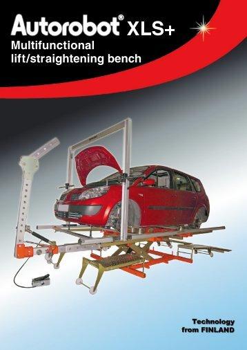 Multifunctional lift/straightening bench - Autorobot
