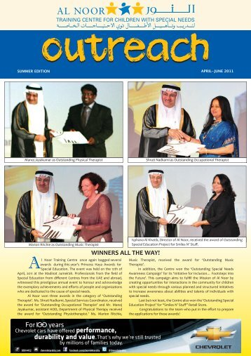 Outreach Summer Edition 2011 - Al Noor Training Centre for ...