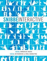 Our Products - Snibbe Interactive