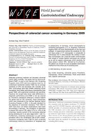 Perspectives of colorectal cancer screening in Germany 2009 - bng