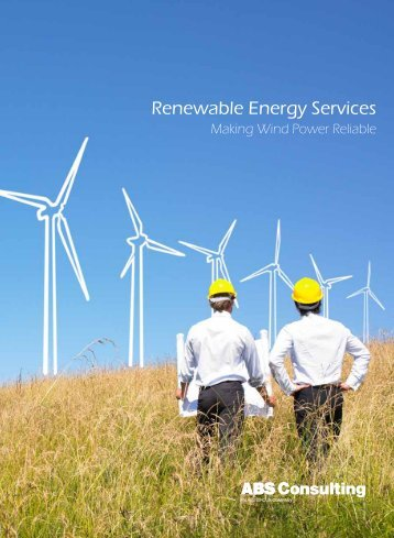 Renewable Energy Services - ABS Consulting