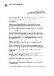 Här är en länk till yttrandet (2013-04-14) - Strängnäs kommun