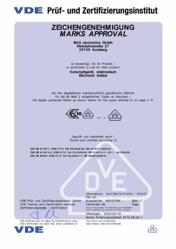 Zertifikat F90 - Spelsberg A/S