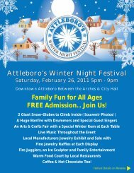 Family Fun for All Ages FREE Admission... Join Us ... - City of Attleboro