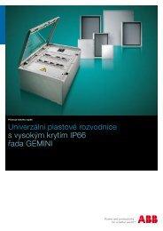 Katalog Rozvodnice plastové víceúčelové IP66 ... - VAE ProSys sro
