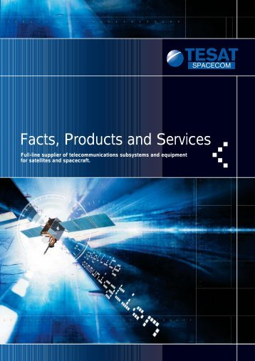 Facts, Products and Services - Electronic Note Space Systems L.LC.