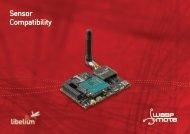 Download pdf Sensor Compatibility - Libelium