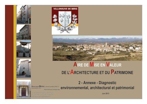 Diagnostic - Villeneuve de Berg
