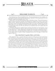 Wine List - Reata Restaurants