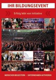 Bildungsbroschüre - Speakers Excellence