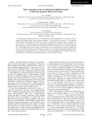 Phase separation in the two-dimensional Hubbard model: A fixed ...