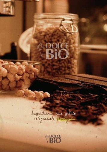 Ingredienti per gelato artigianale Biologico - GelAmore