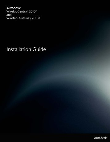 Installation Guide - Autodesk