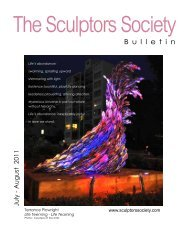 July-Aug 2011 - The Sculptors Society