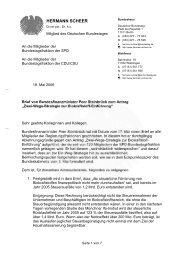 Brief an die Mitglieder der Bundestagsfraktion ... - Hermann Scheer