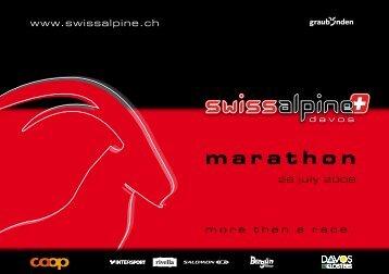 marathon - Schatzalp