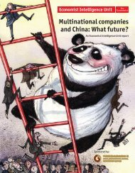 Multinational companies and China: What future? - management ...