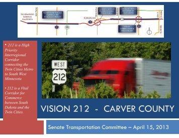 SF 866 handout (PDF) - Minnesota Senate