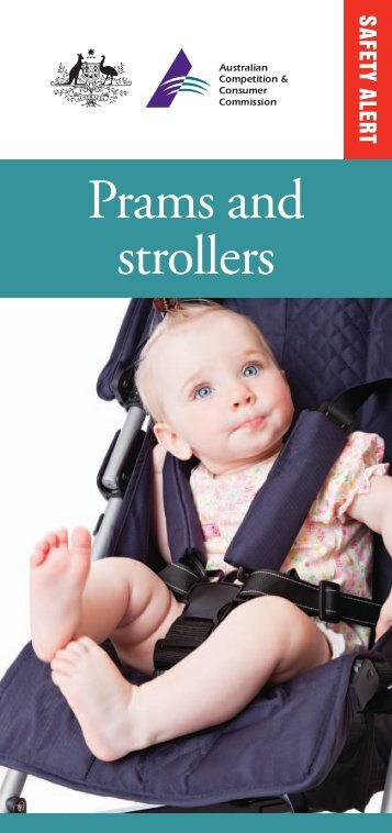 Prams and strollers - safety alert