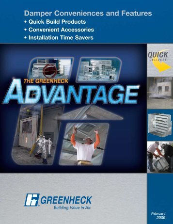 Damper Conveniences and Features - Greenheck