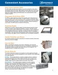 Damper Conveniences and Features - Greenheck - Page 7