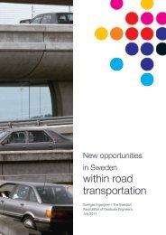within road transportation - Sveriges ingenjörer