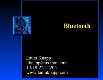 """""""Bluetooth""""? - Laura Jeanne Knapp"""