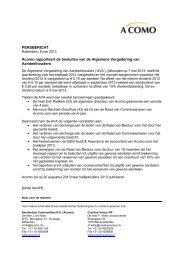 Besluiten AVA 2013 - PressPage