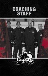 COACHING STAFF - NHL.com