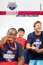 2012 Mini Rulebook - USA Swimming