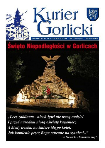 Święto Niepodległości w Gorlicach - Urząd Miejski w Gorlicach