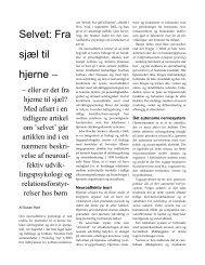 Psykolog Nyt Nr. 4 2003.pdf - neuroaffect.dk