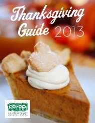 Download our Thanksgiving Guide - Co-opportunity