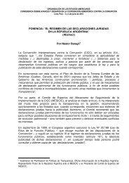 """""""EL RÉGIMEN DE LAS DECLARACIONES JURADAS EN LA ..."""