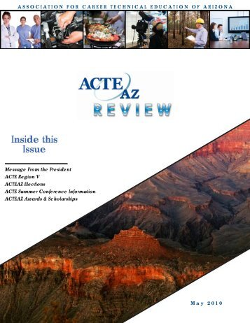 May 2010 Newsletter - ACTEAz