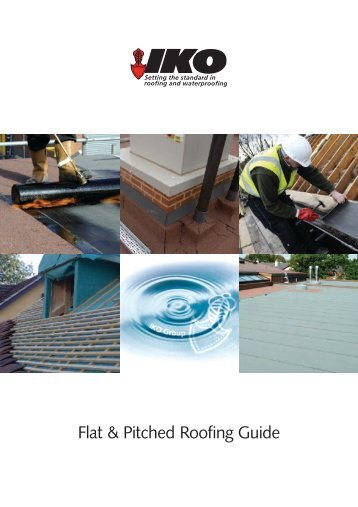 IKO Flat & Pitched Roofing Guide - Howarth Timber